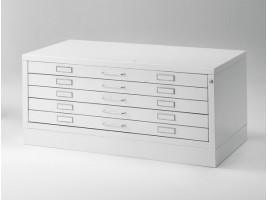 Metal Drawer Draftech - DIN 1 - 5 drawers