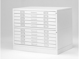 Metal Drawer Draftech - A1 DIN - 10 drawers