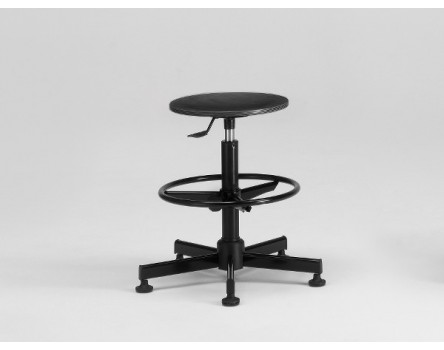 Drafting Stool Total Black