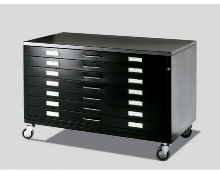 Draftech 10 Drawers DIN A0 on Castors