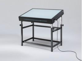 Grapholux Tavolo Luminoso Regolabile 73x103 - Led 6000k