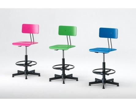 Adjustable drafting stool 50/76 cm
