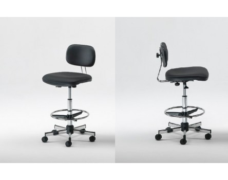 Adjustable stool for medical clinic