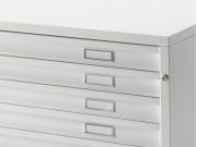 Draftech Basic - Drawers A0 - 5 Drawers - Wheels