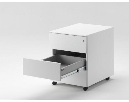 Cassettiere Metalliche Per Ufficio.Cassettiera Metallo Con Ruote Per Documenti Ufficio 42x54x54h