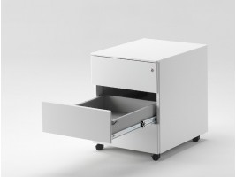 Office Document Drawer - 3 Drawers - White or Black