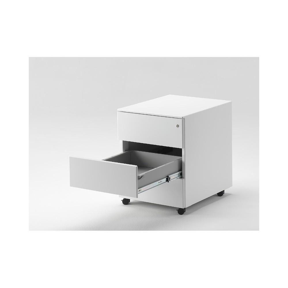 Cassettiera Metallo Con Ruote Per Documenti Ufficio 42x54x54h