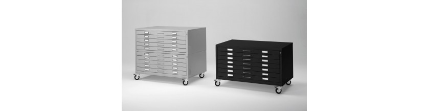High Range Metal Drawers - A0 A1 A2